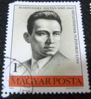 Hungary 1980 100th Anniversary Birth Zoltan Schonherz 1ft - Used - Hungary