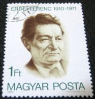 Hungary 1980 70th Anniversary Birth Ference Erdei 1ft - Used - Hungary