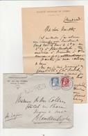 EXPRES,griffe Linéaire, Société De Vedrin (Risles-St-Marc) Cachet Namur 1 Vers Blankenberghe En 1911, Timbre N° 74 + 76 - Marcophilie