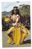 Carte Postale Danse Tahitienne Dénommée Paoti - Polinesia Francese