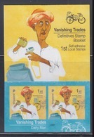 Singapore 2013 Vanishing Trades, Dairy Man Bicycle Booklet **13th Reprint (Imprint 2018N) - Singapur (1959-...)