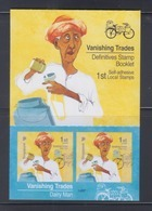 Singapore 2013 Vanishing Trades, Dairy Man Bicycle Booklet **14th Reprint (Imprint 2018O) MNH - Singapur (1959-...)