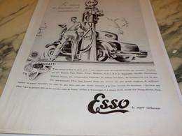 ANCIENNE PUBLICITE LA SAISON DE TOURISME  ESSO 1931 - Transports