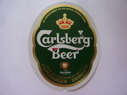 "Etichetta ""CARLSBERG BEER"" - Birra"