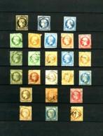 FRANCE - Collection 1849 / 1937 - Oblitérés - Avec De Bonnes Valeurs - Cote Environ 1500 Euros - Collections