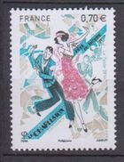 2016-N°5083** FETE DU TIMBRE.LA DANSE - Neufs