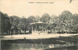 CP LOCHES KIOSQUE DU JARDIN PUBLIC - Loches