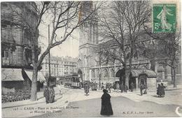 CAEN: PLACE ET BOULEVARD SAINT PIERRE - Caen