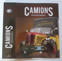 CLASSEUR De RANGEMENT Des FASCICULES ALTAYA Des CAMIONS D' AUTREFOIS  Visuel BERLIET GLR CALBERSON - Catalogues & Prospectus