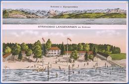 STRANDBAD LANGENARGEN Am Bodensee - Bodensee U Alpenpanorama - Langenargen