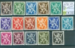 674-689 Xx   Côte 27.00€ - Belgique