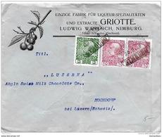 55- 35 - Enveloppe Envoyée D'Autriche En Suisse 1909 - 1850-1918 Imperio