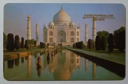 INDIA - 1st GPT DEMO - Taj Mahal - 1987 - White Back - Plessey - 1000 Units - Used - India