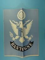 Bastogne (Brochure De 16 Pages Sur La Guerre 1940-45) - Dépliants Touristiques