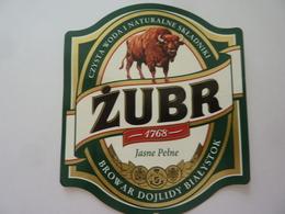 """Etichetta """"ZUBR"""" - Birra"""