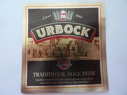 "Etichetta ""URBOCK"" - Birra"