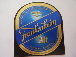 """Etichetta """"FRANKENHEIM"""" - Birra"""