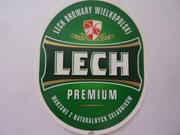 "Etichetta ""LECH PREMIUM"" - Birra"