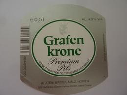 """Etichetta """"GRAFEN KRONE"""" - Birra"""