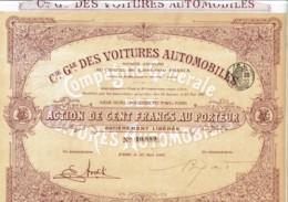 75-VOITURES AUTOMOBILES. Cie Gle Des ... Bld Ney Paris - Other