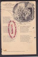 P1394 - LET FETE Des Bonnes Gens Que R'vint -  Ancienne Chanson Lorraine  -  Bastien - Lunéville - Meurthe Et Moselle - France