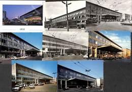 Liège - Variation 8 Cartes CPM - La Gare Des Guillemins (oldtimer, Taxis....) - Liege