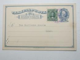 1923 , Costa Rica  Tajeta Postal  A Limon - Costa Rica