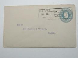 1911 , Costa Rica , Letter Postal  A Limon - Costa Rica