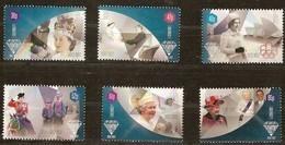 Guernsey Guernesey 2012 Yvertn° 1378-1383 *** MNH Cote 10,80 Euro Queen Elisabeth - Guernesey