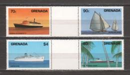 Grenada 1984 Mi 1307-1310 MNH SHIPS - Boten