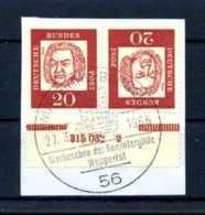 Z40594)Bund ZDR K 4 HAN Bfst. - [7] République Fédérale