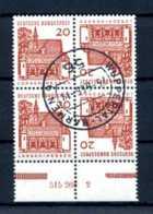 Z40608)Bund ZDR K 6 HAN Gest. - [7] République Fédérale