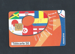 TÉLÉCARTE FOOT FRANCE 98 : - Sport