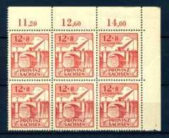 Z41576)SBZ 88 II ER-6er-Block** - Sowjetische Zone (SBZ)