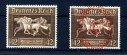 Z41778)DR 621** + 649**, Pferde - Ungebraucht