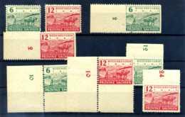 Z42366)SBZ 85/86 A, B, C, D** Kpl. - Sowjetische Zone (SBZ)