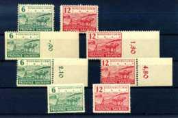 Z42373)SBZ 85/86 A, B, C, D** Kpl. - Sowjetische Zone (SBZ)