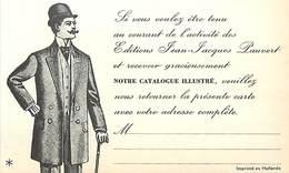 - Ref-B589- Publicité - Editions Jean Jacques Pauvert - 8 Rue De Nesles - Paris - 6e Arrondissement - - Publicité
