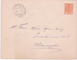 E.P  Enveloppe  - Finland/Suomi - 1896 - Ganzsachen