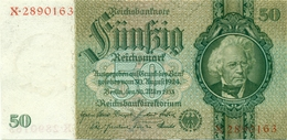50 REICHSMARKS 1933 NEUF - [ 4] 1933-1945 : Troisième Reich