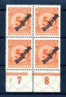 Z44273)DR Dienst 103 VB Mit Platten-Nr. 2** - Dienstpost