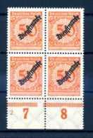 Z44274)DR Dienst 103 VB Mit Platten-Nr. 2** - Dienstpost