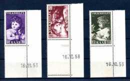 Z45797)Saar 344/346 ER Mit Druckdatum** - 1947-56 Allierte Besetzung