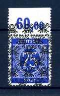 Z46469)Bizone 67 II OR Durchgezähnt**, Falz Im Rand, Best. Gepr. Schlegel - Zone Anglo-Américaine