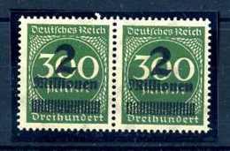 Z46634)DR Plattenfehler 310 V Paar** - Plattenfehler