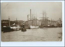 S1764/ Stettin  Max Dreblow Foto AK  Hafen, Ca.1905 - Pommern
