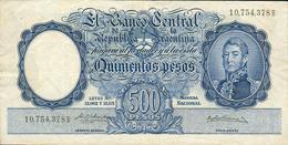 500 PESOS 1954 - Argentina