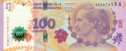 100 PESOS 2012 EVITA PERON - Argentine