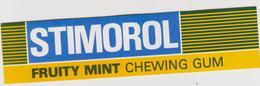 Autocollants : Bonbon  Chewing  Gum , Stimorol - Autocollants