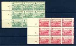 Z47331)SBZ 85/86 A, 9er-Block Mit Verzähnung** - Zone Soviétique
